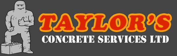 Taylor's Concrete Services Ltd Logo